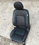 MITSUBISHI LANCER RALLIART GSR GS - BLACK FULL LEATHER FRONT LEFT SEAT